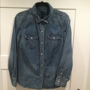 JCrew Denim Shirt